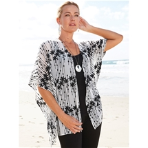 Embroidered Chiffon Jacket