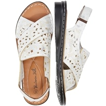 Ornate Cut Out Sandal