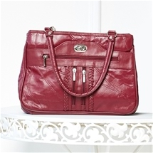 Super Pocket Leather Handbag
