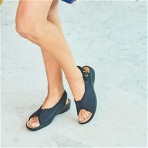 Chad Soft Elastic Sling Back