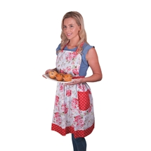 Full Size Flower Design Apron