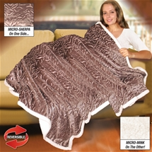 Reversible Sherpa Blanket