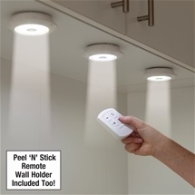Peel N Stick Lights with Remote