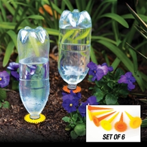 Sunflower Watering Spikes (Set of 6)